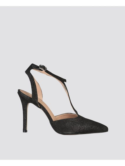 Black Apolline  Pumps