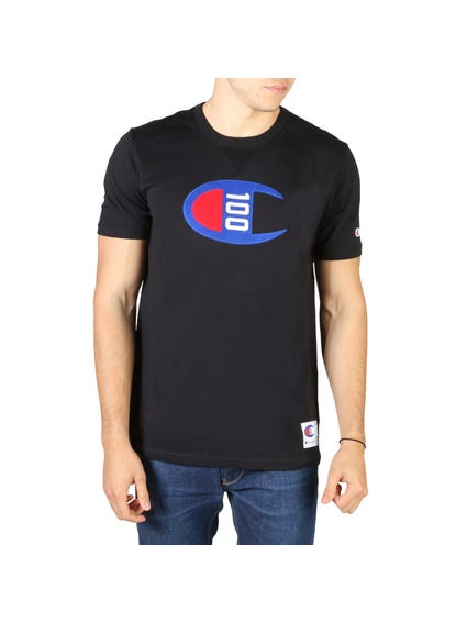 Black Graphic Short Sleeve T-shirt