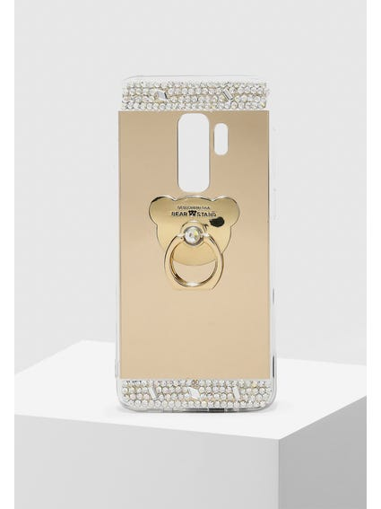 Gold Sequin Embellished Samsung S9 Cover
