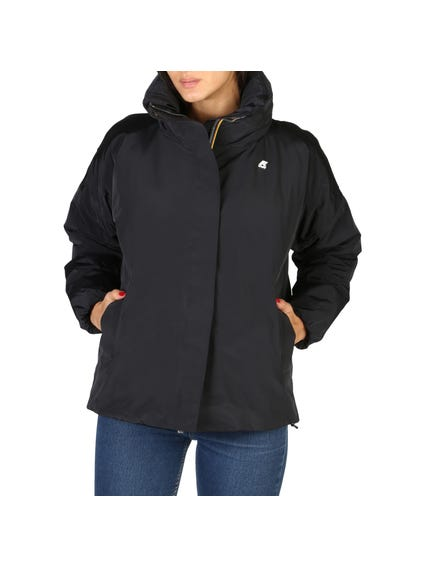 Hooded Long Sleeve Zipper Stripes Jacket