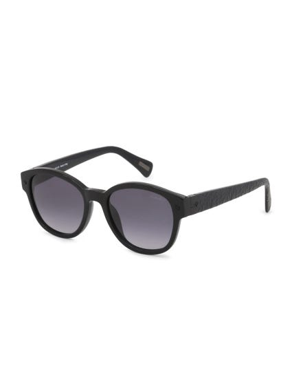 Solid Black Michael Caine Sunglasses
