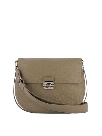 Magnetic Snap Crossbody Bag