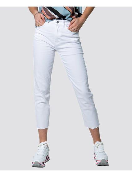 White Classic Denim Jeans