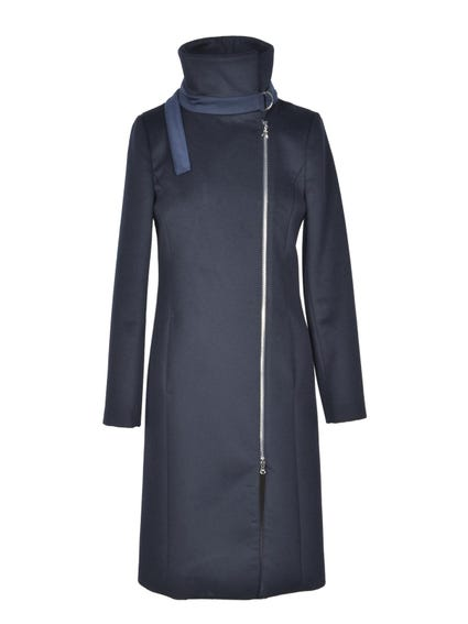 High Neck Full Zip Coat