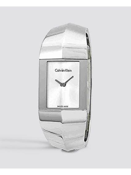 Shape Silver Dial Watch