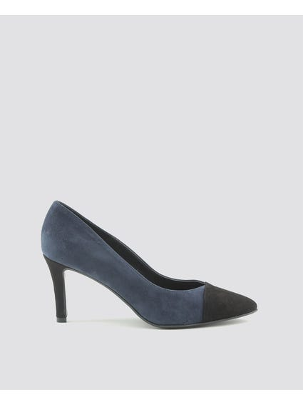 Blue Flavia Pumps