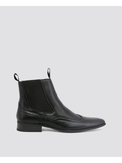 Black Rudolph Ankle Boots