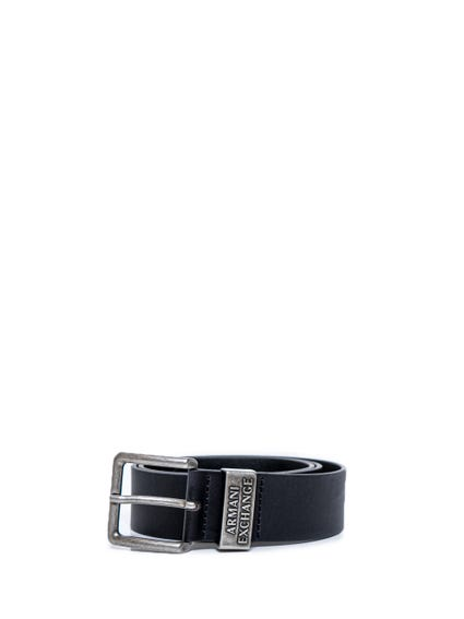 Classic Leather Buckle Pin Belt