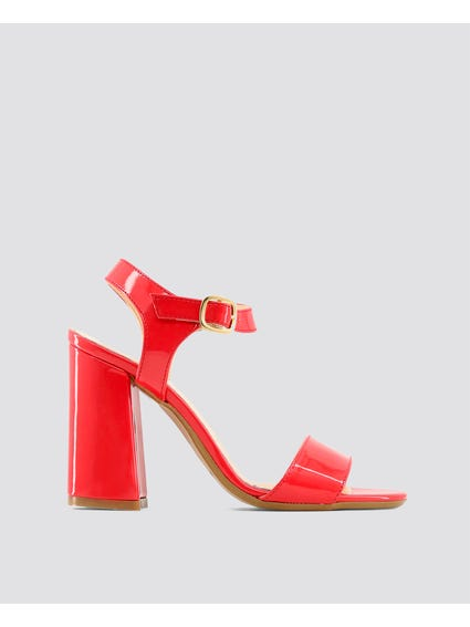 Red Angela Sandals