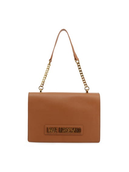 Brown Classic Chain Shoulder Bag