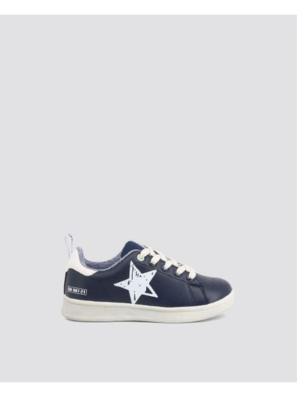 Blue Star Kid Sneakers