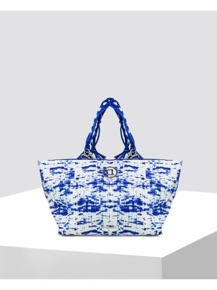 Blue Waves Shoulder Bag
