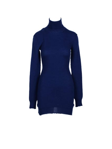 High Long Sleeve Bodycon Dress