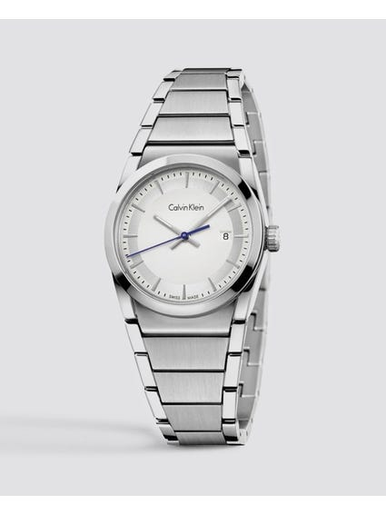 Step Silver Dial Watch