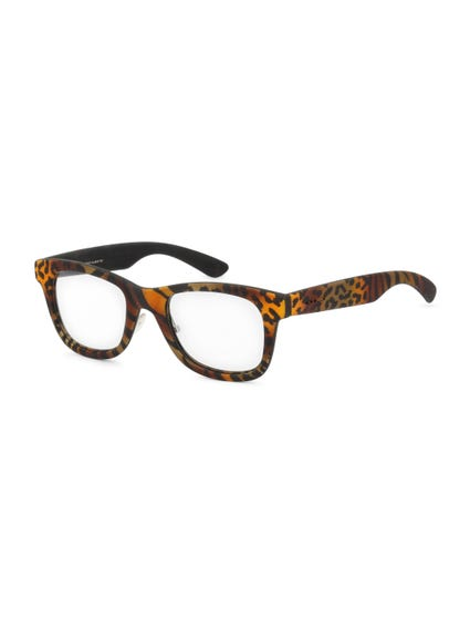 Brown Mosaic Sunglasses