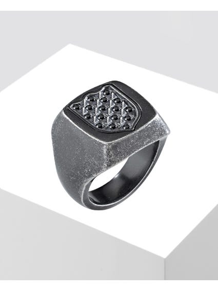 Silver Inox Stainless Steel Ring