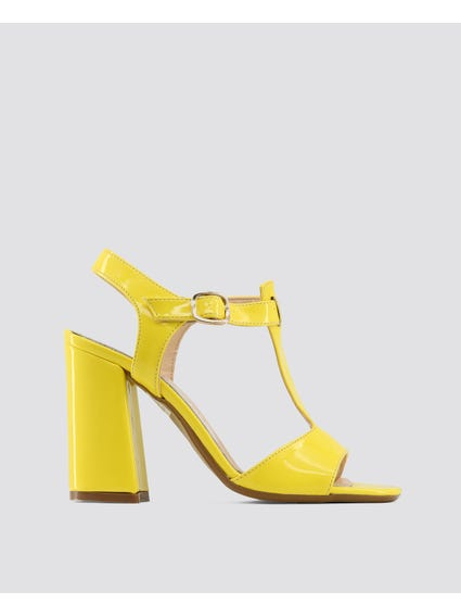 Yellow Arianna Sandals