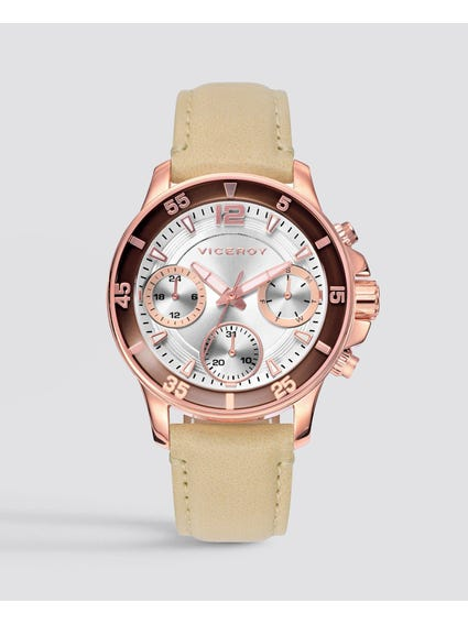 Beige Endless Leather Watch