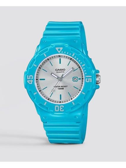 Blue Analog Quartz Watch