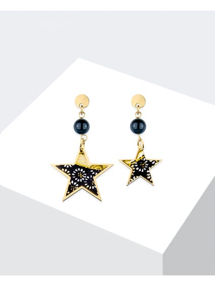 Nero Tanabata Mini Earrings