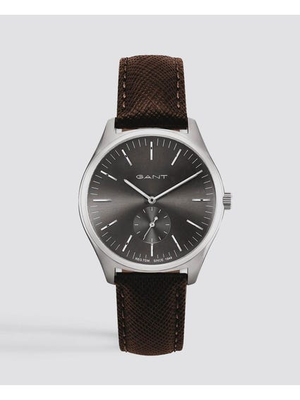 Brown Springfield Leather Watch
