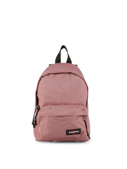 Pink Full Dots Zip Backpack