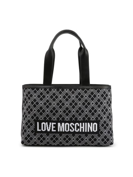 Pattern Love Shoulder Bag