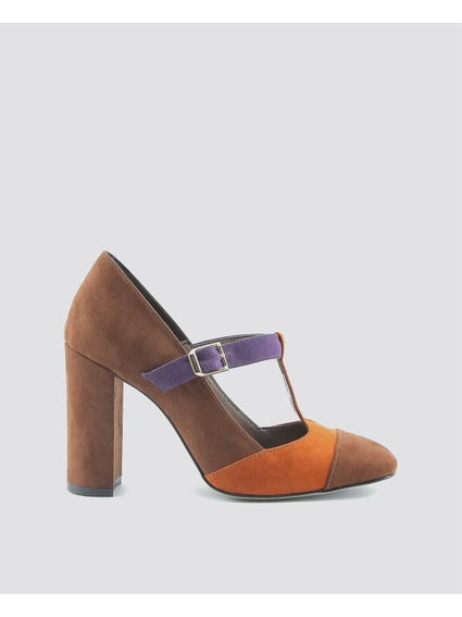 Brown Giorgia Pumps