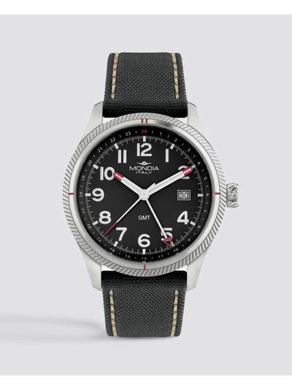 Black Dial Quartz Analog Watch