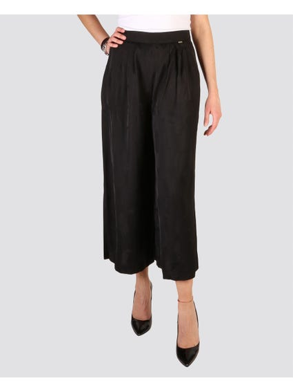 Black Straight Trouser
