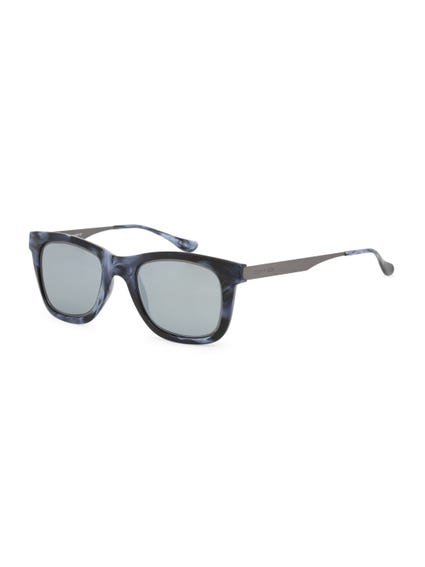 Black Vintage Le Club Sunglasses