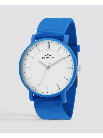 Sorbetto White Dial Analog Watch