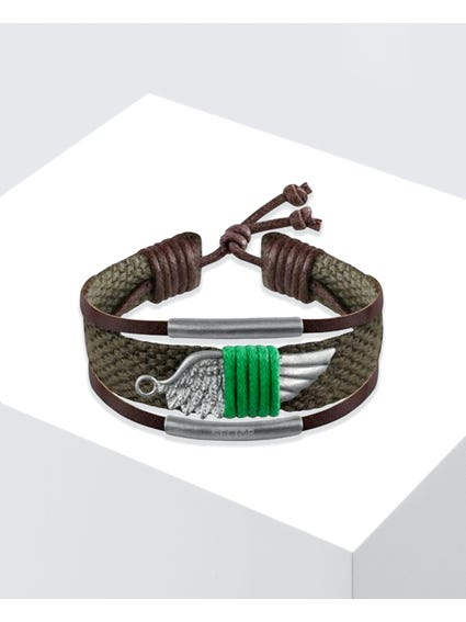 Green Rude Wing Bracelet