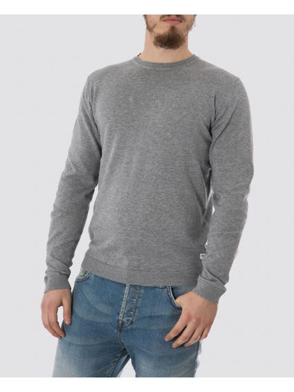 Grey Alexander Knit Sweater