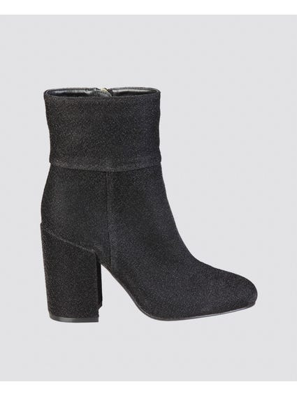 Black Lulu Ankle Boots