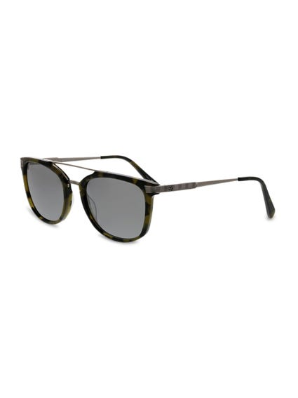 Brown Top Bar Bridged Sunglasses