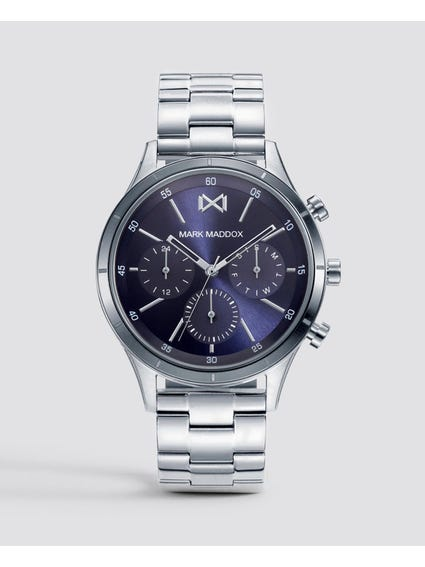 Shibuya Blue Dial Stainless Steel Watch