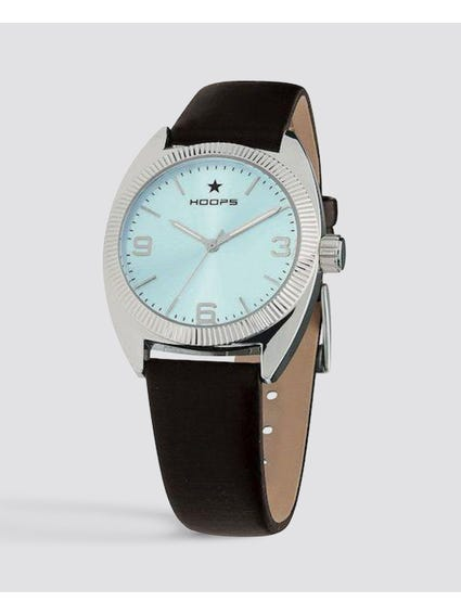 Turquoise Dial Quartz Analog Watch