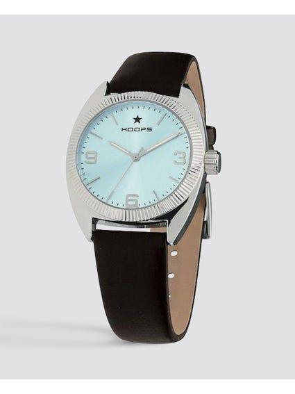 Turquoise Dial Quartz Analog Watch