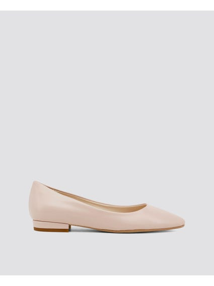 Pink Mare-mare Flat Shoes