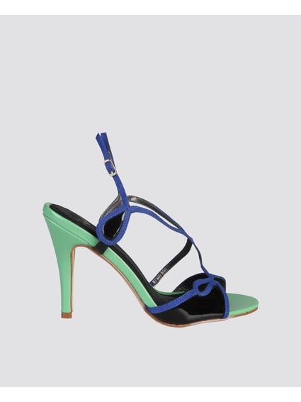 Green Jade Ankle Sandals