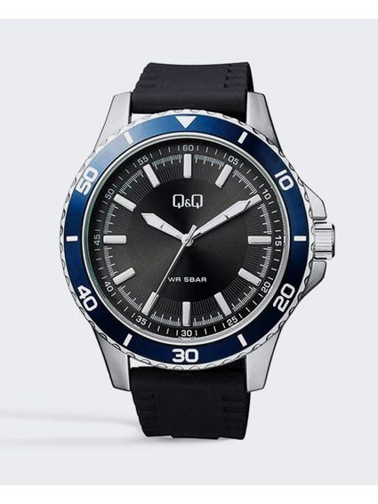 Black Genuine Analog Watch