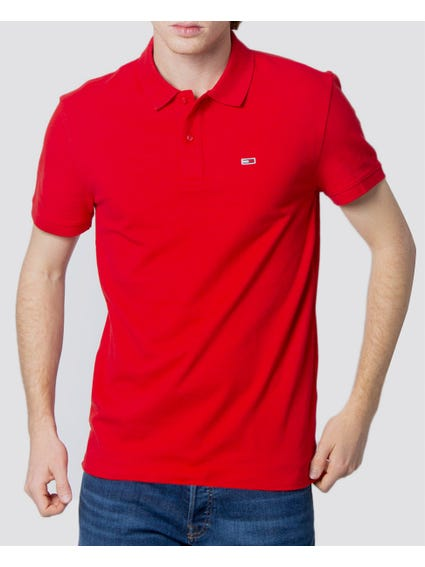 Classic Solid Polo Shirt