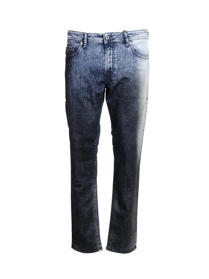 Denim Zip Slim Fit Jeans