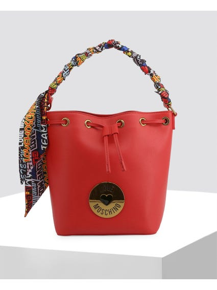 Red Heritage Leather Bag