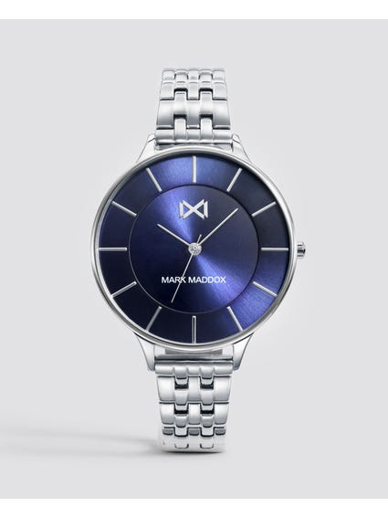 Silver Alfama Stainless Steel Watch