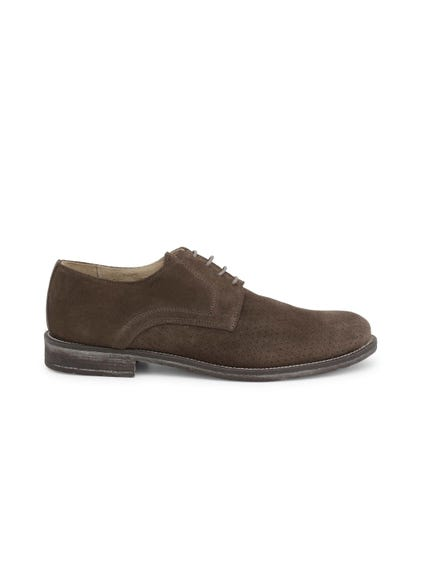 Brown Camosciobucato Lace Up Shoes
