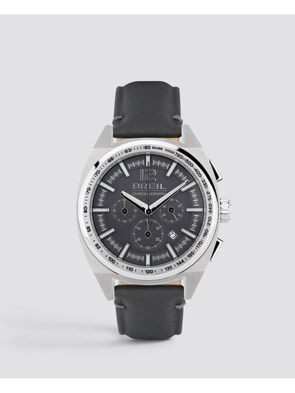 Master Leather Analog Watch