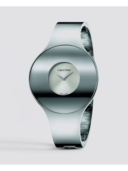 Silver Dial Medium Bangle Watch