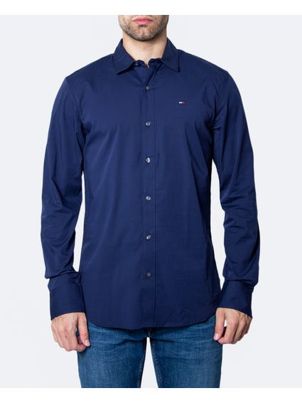 Plain Casual Long Sleeve Shirt